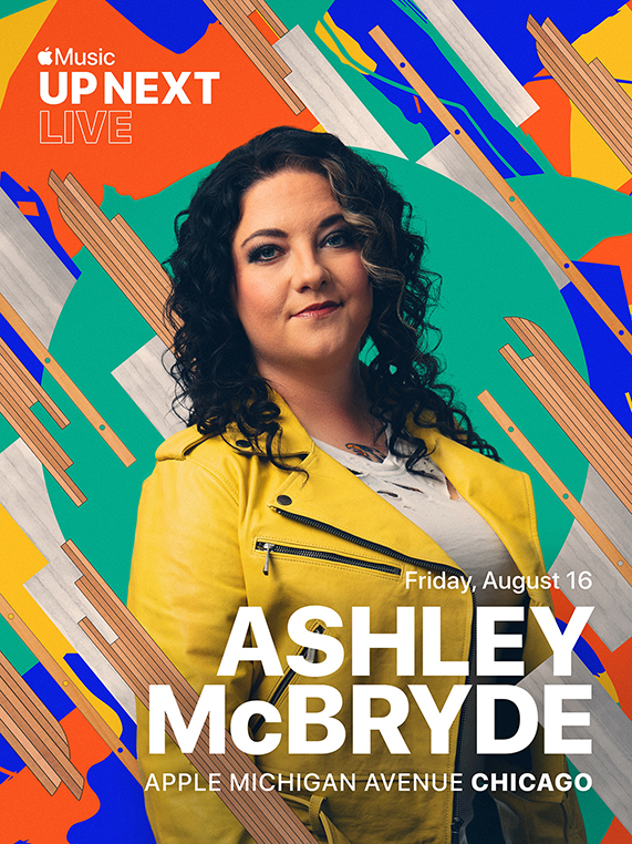 Apple Music Up Next Live featuring Ashley McBryde at Apple Michigan Avenue.