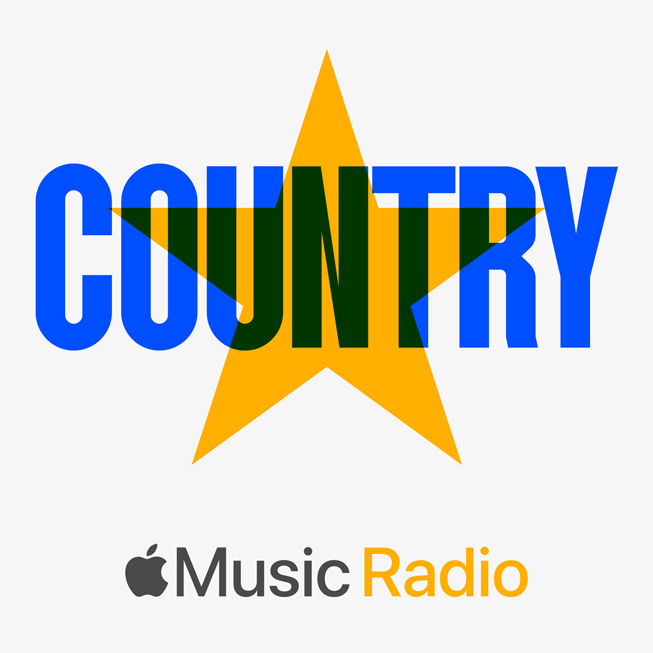 Radio station cover art for Apple Music Country.