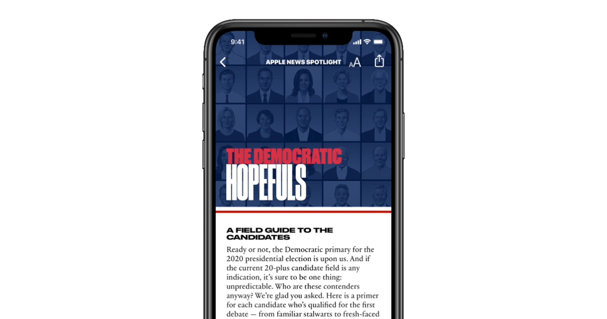 Best News Sources 2020 Apple News launches candidate guide ahead of 2020 Democratic