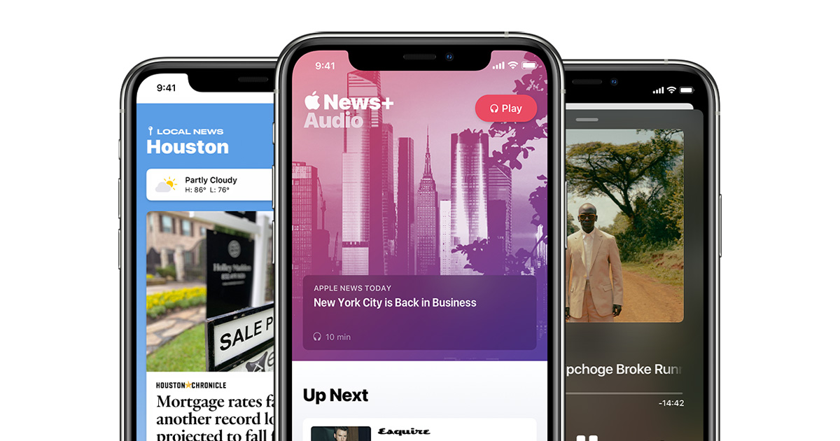 photo of Apple News launches new audio features, expands local news offerings for readers image