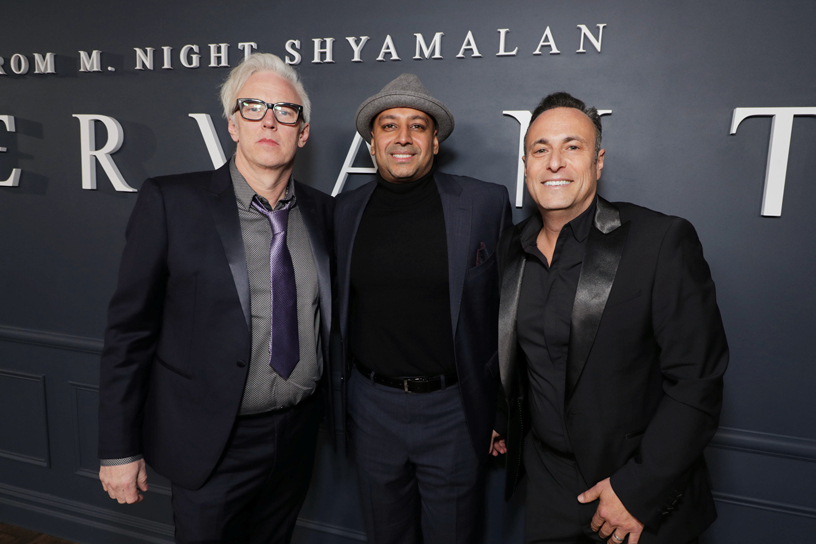 Tony Basgallop, Ashwin Rajan and Jason Blumenthal.