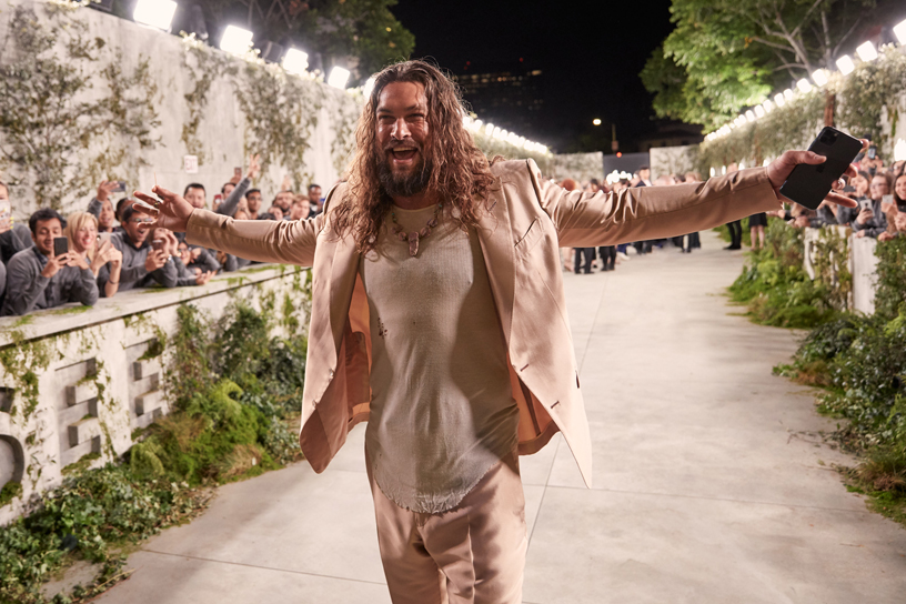 "Jason Momoa at the ""See"" premiere."