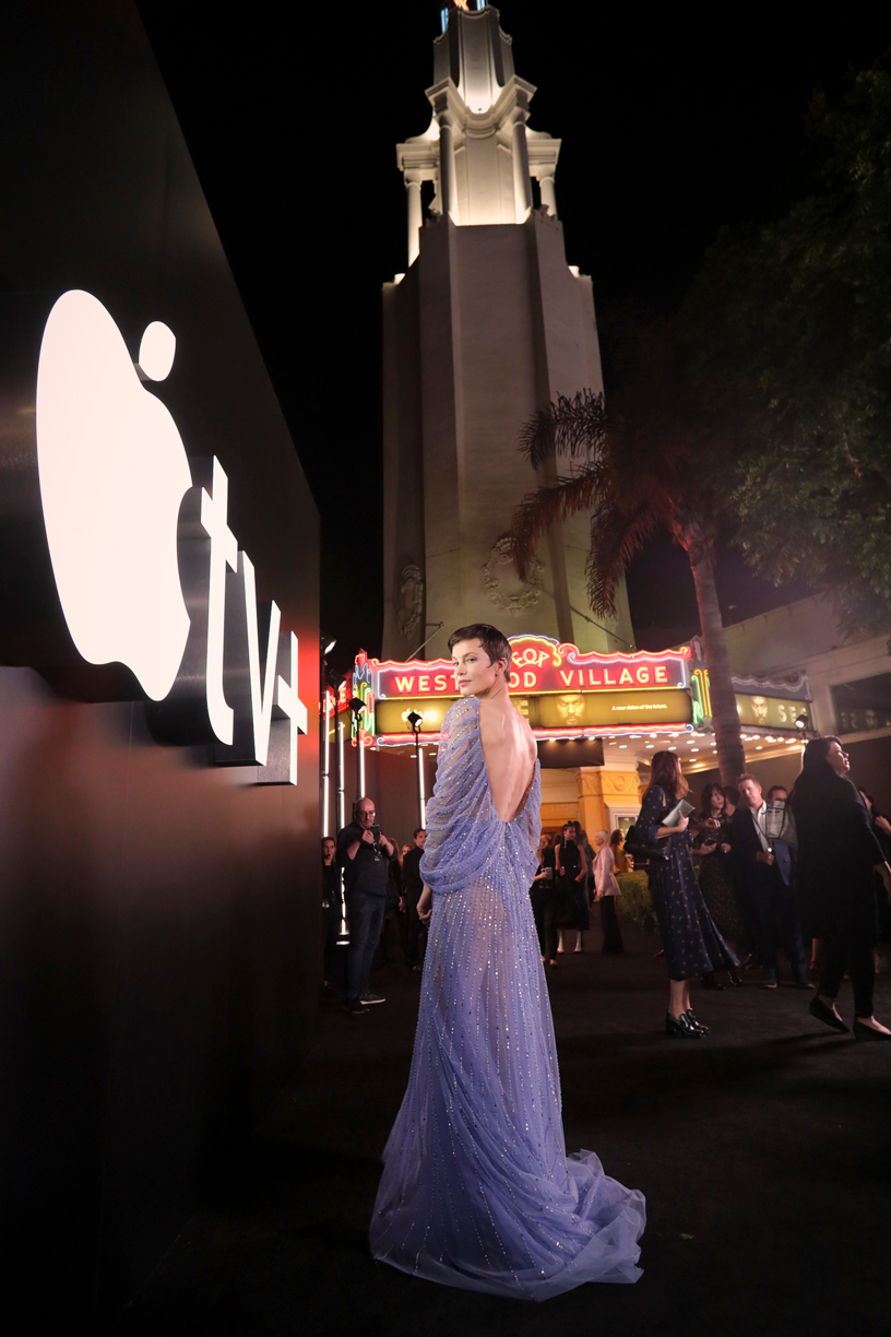 "Sylvia Hoeks at the ""See"" premiere."
