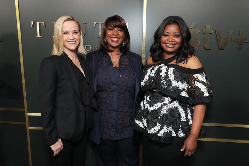 Reese Witherspoon, Nichelle Tramble Spellman and Octavia Spencer.