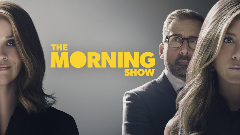 "Schermata con il titolo ""The Morning Show"" su Apple TV+."
