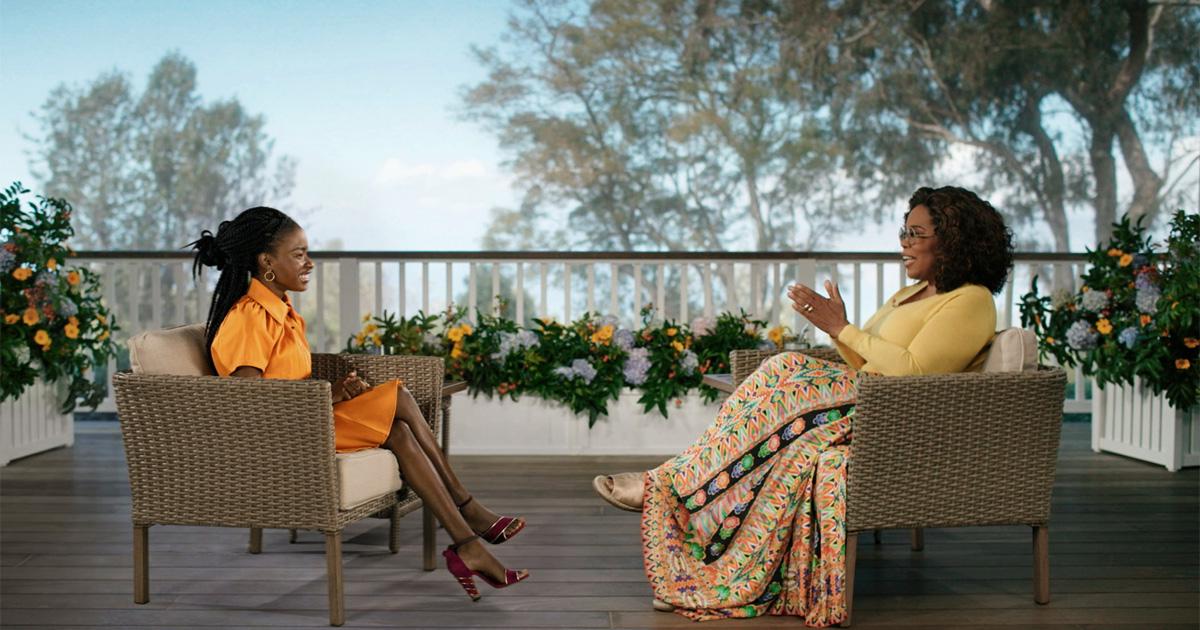 """Poet Laureate Amanda Gorman ist am 26. März in """"The Oprah Conversation"""" zu sehen"""