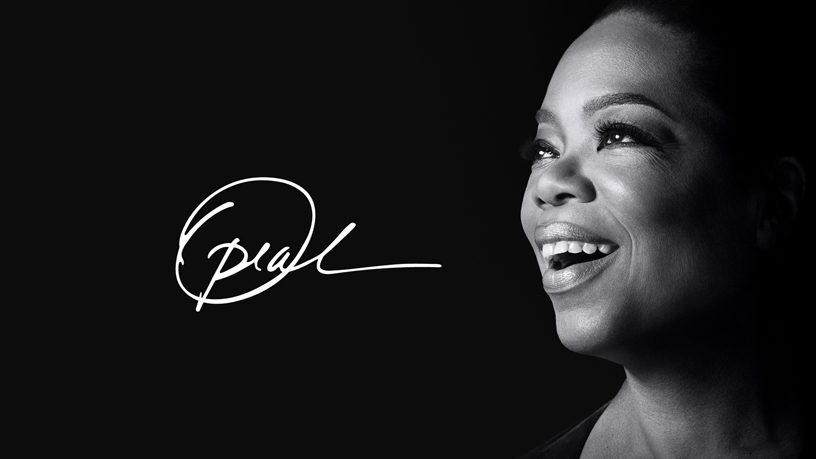 Oprah op Apple TV+.