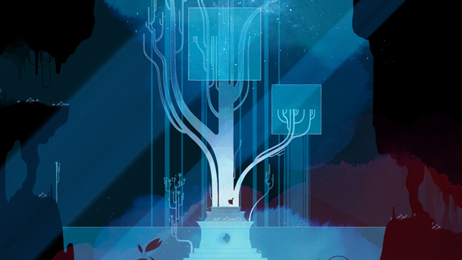 "Screenshot from ""GRIS."""