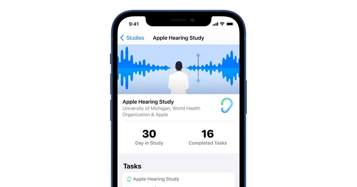 Apple Hearing Study shares new insights on hearing health - Apple Newsroom