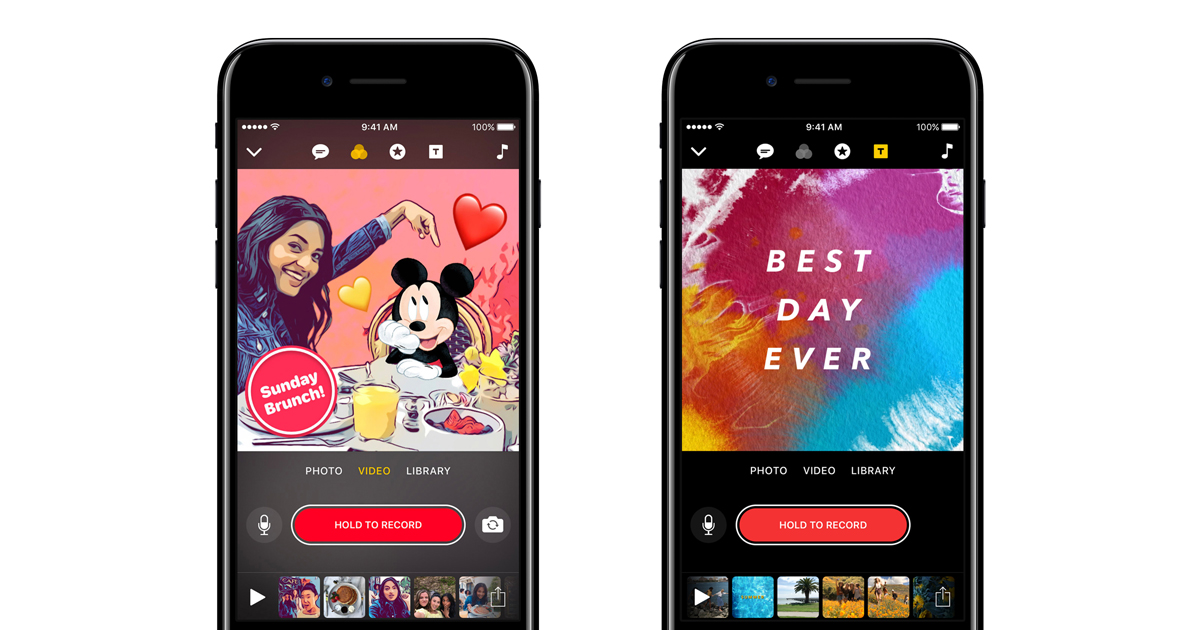f481f769657 Clips now features Disney and Pixar characters - Apple (LV)