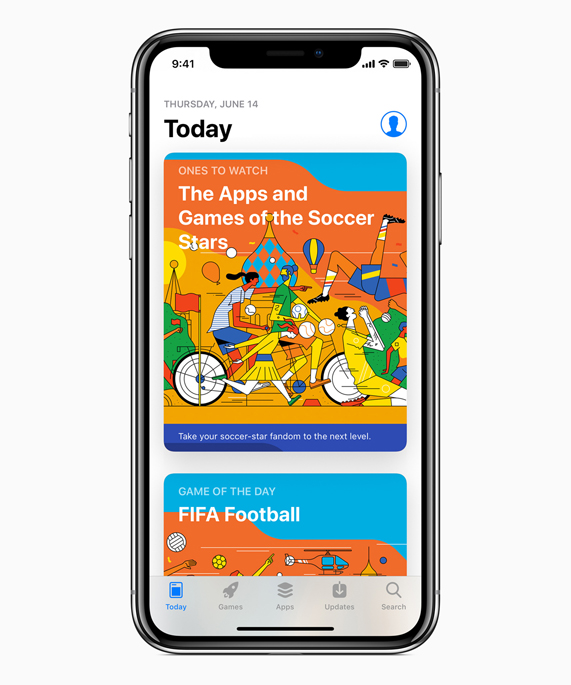 Football fans can get the latest on World Cup across Apple devices and services