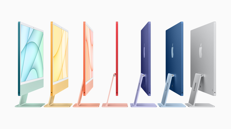 M1 iMac All Colours
