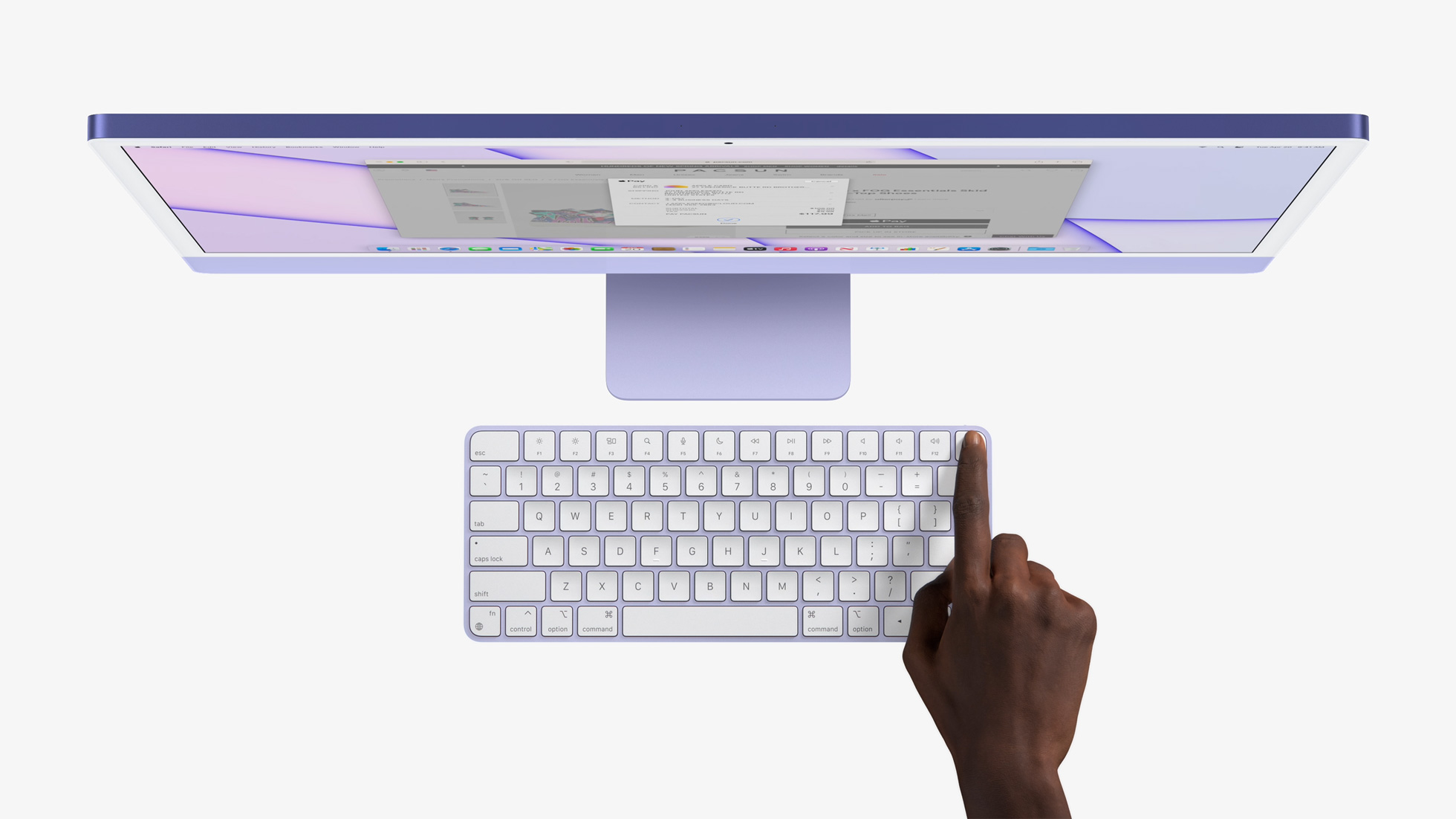 New Magic Keyboard with integrated TouchID