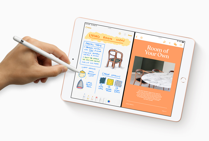 La nuova app Note con l'integrazione di Apple Pencil su iPad.
