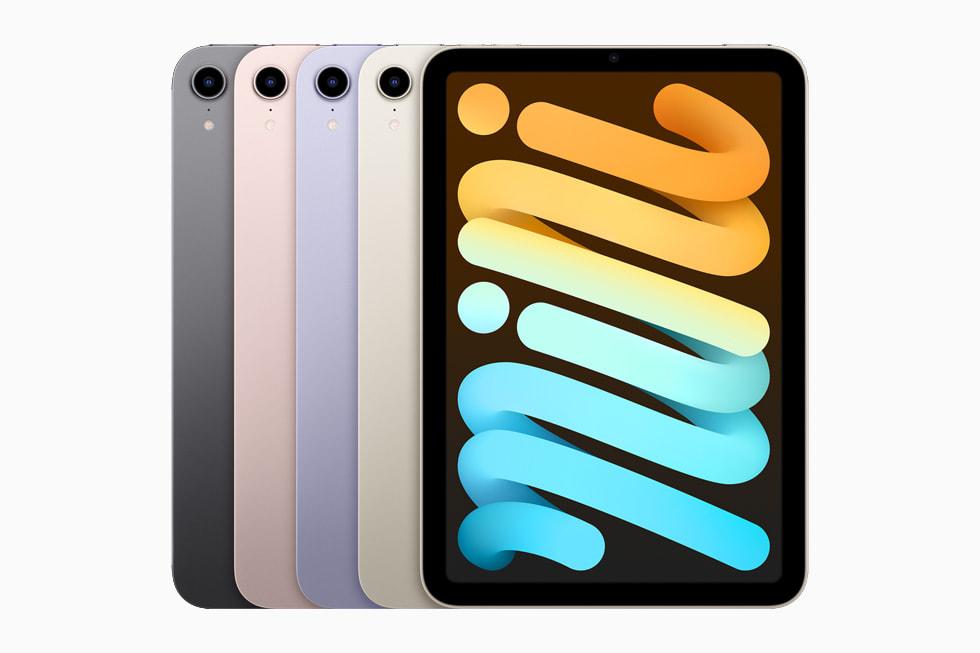The new iPadmini colour lineup.