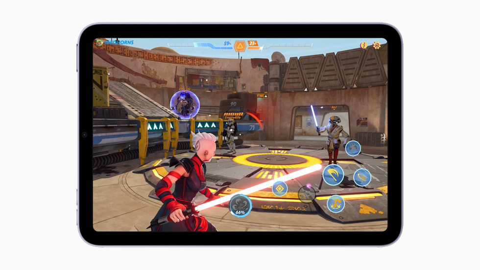 Gameplay on the new iPad mini with A15 Bionic.