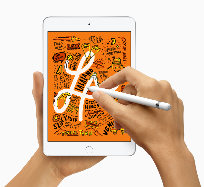 iPad mini with Apple Pencil.