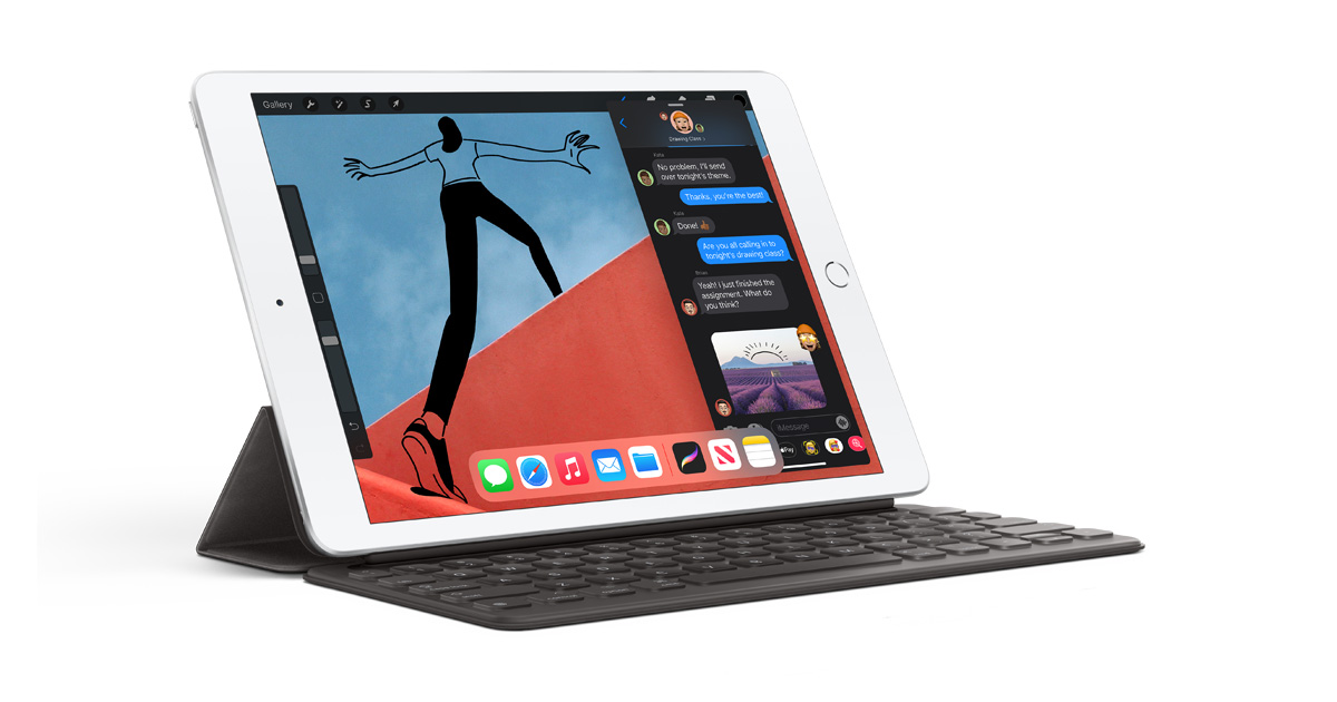 Apple introduces eighth-generation iPad with a huge jump in performance -  Apple (QA)