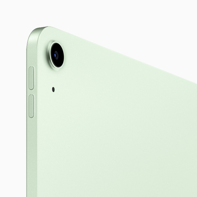 Green iPad Air's back-facing camera.