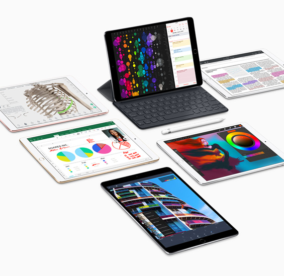 ipad pro in 10 5 inch and 12 9 inch models introduces the world s most advanced display and. Black Bedroom Furniture Sets. Home Design Ideas