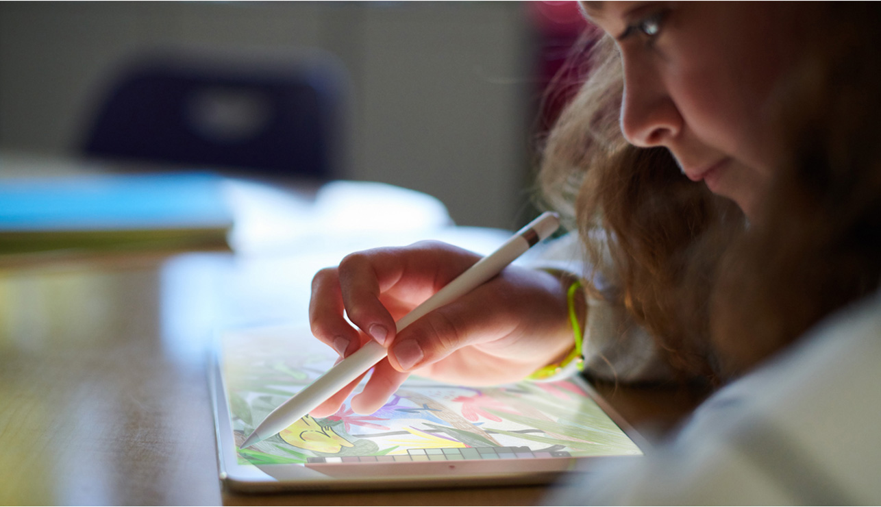 Ipad now features apple pencil support giving users the ability to be even more creative and productive