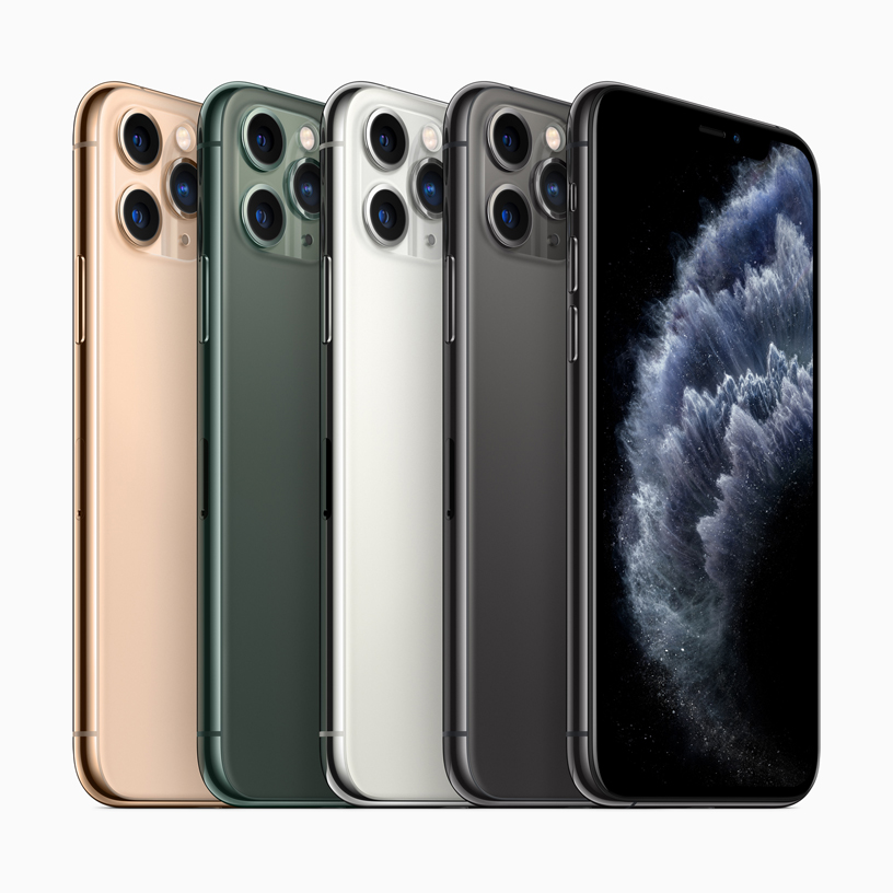 iPhone 11 Pro and iPhone 11 Pro Max the most powerful and