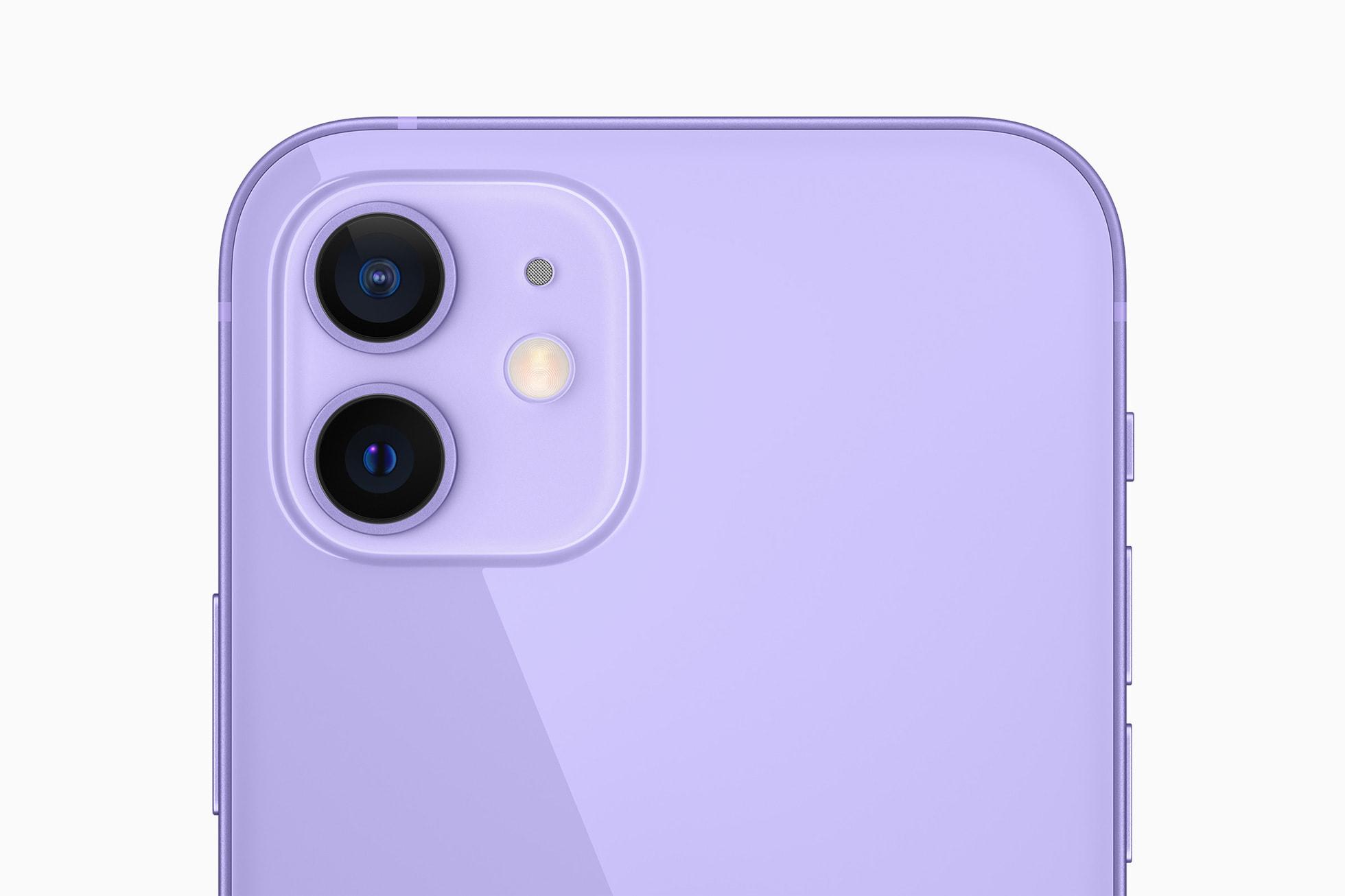 iPhone 12 dan 12 Mini punya dua kamera belakang.