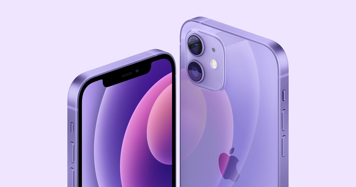 Apple stellt iPhone 12 und iPhone 12 mini in einem atemberaubenden neuen Violett vor
