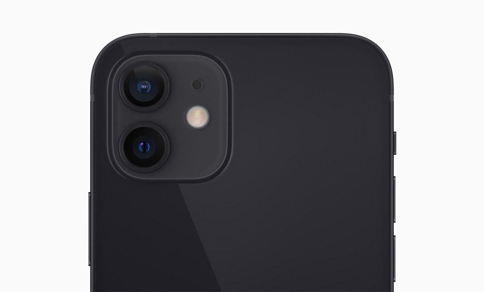Система двух камер на iPhone 12.