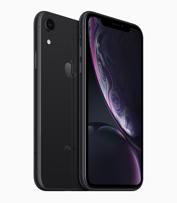 iPhone XR in Schwarz.