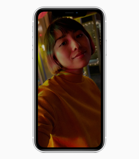 iPhone XR con el modo Retrato.