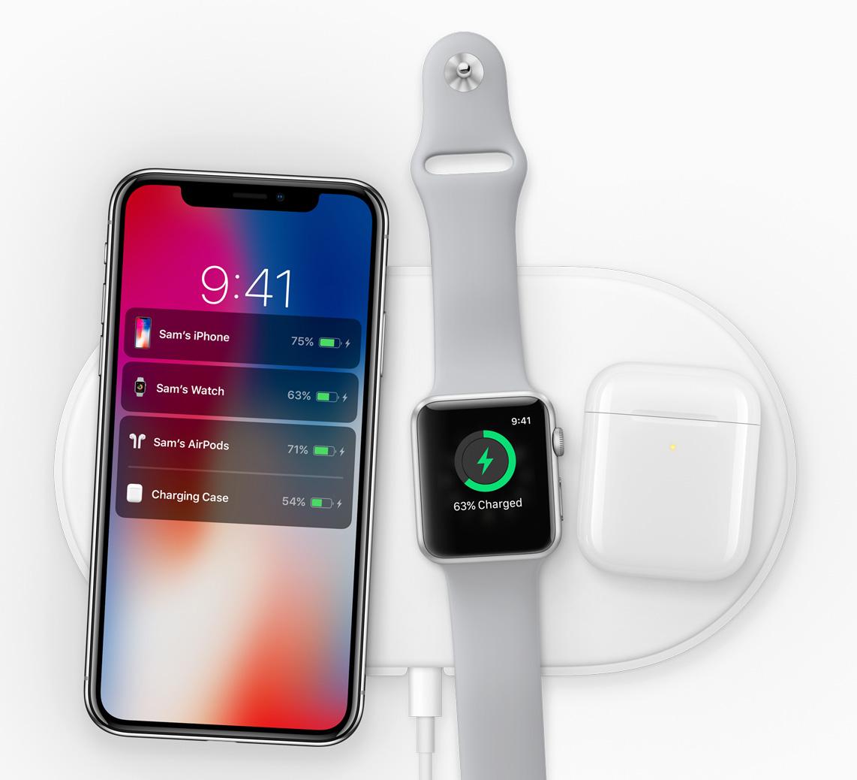 iPhone X支援无线充电