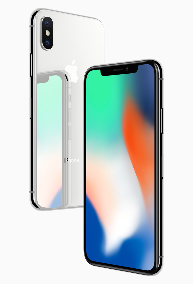The future is here iPhone X , Apple