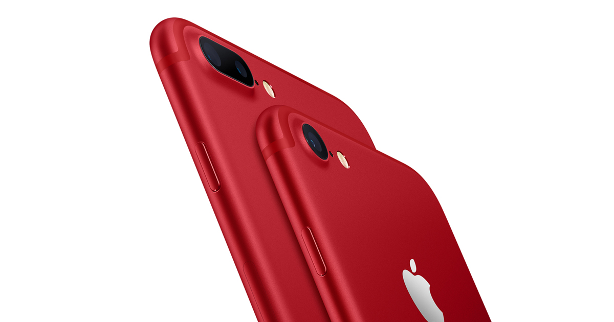 Apple Introduces Iphone 7 And Iphone 7 Plus Product Red Special Edition Apple