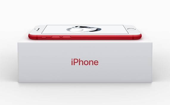 Apple introduces iPhone 7 and iPhone 7 Plus (PRODUCT)RED