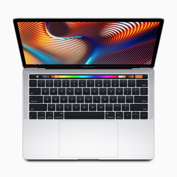 "13"" MacBook Pro mit Touch Bar."