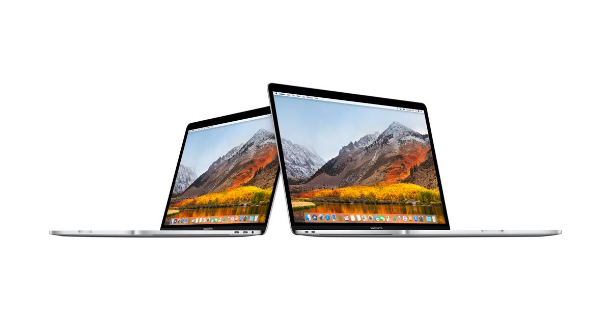 Чем отличается MacBook Pro 2017 от MacBook Pro 2018?