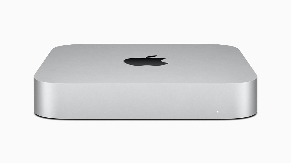 The new M1-powered Mac mini.