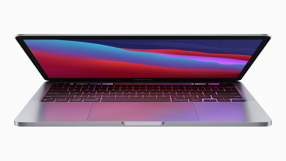 The new 13-inch MacBook Pro.