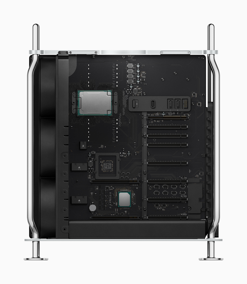 Mac Pro ha potenti processori Xeon.
