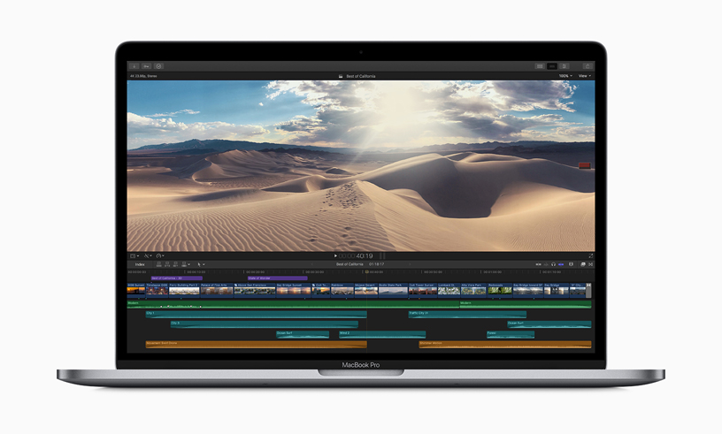 Apple Releases Updated MacBook Pro CPUs and a New Keyboard Design