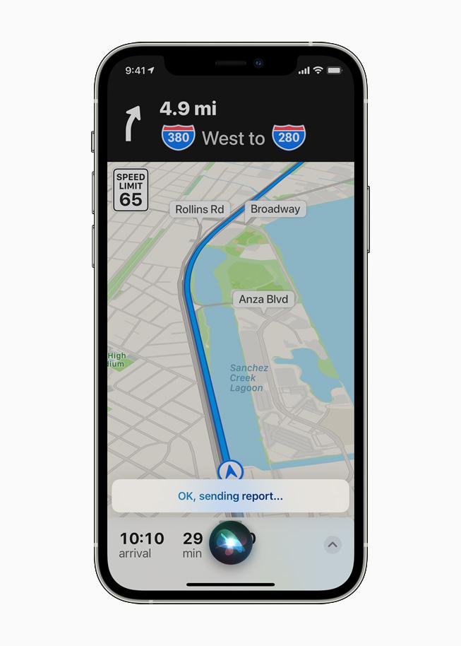 Siri y Apple Maps en iOS 14.5