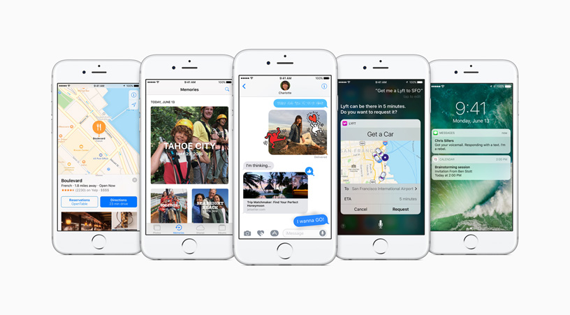 Apple previews iOS 10, biggest iOS release ever - Apple