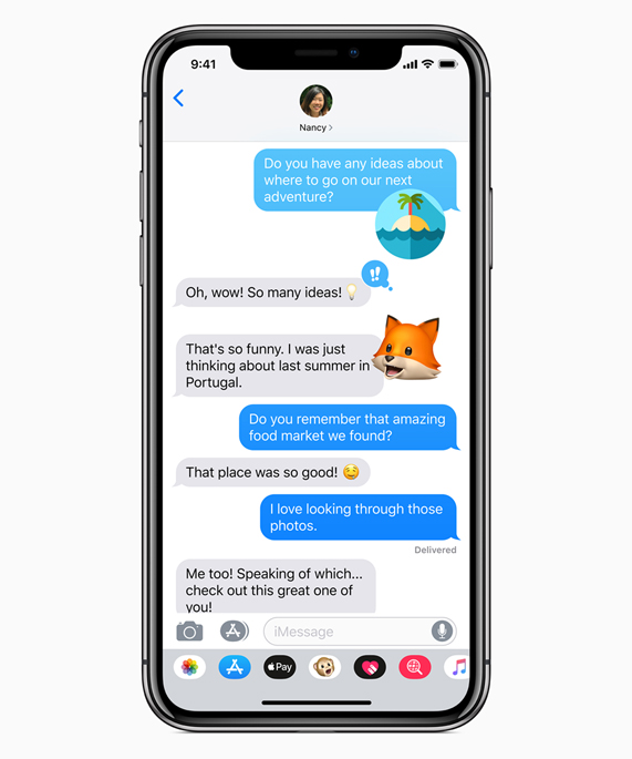 Apple previews iOS 12 - Apple