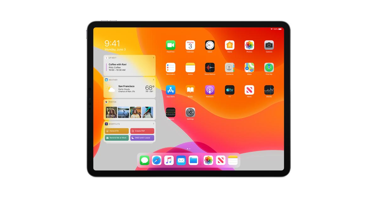 The new iPadOS powers unique experiences designed for iPad - Apple