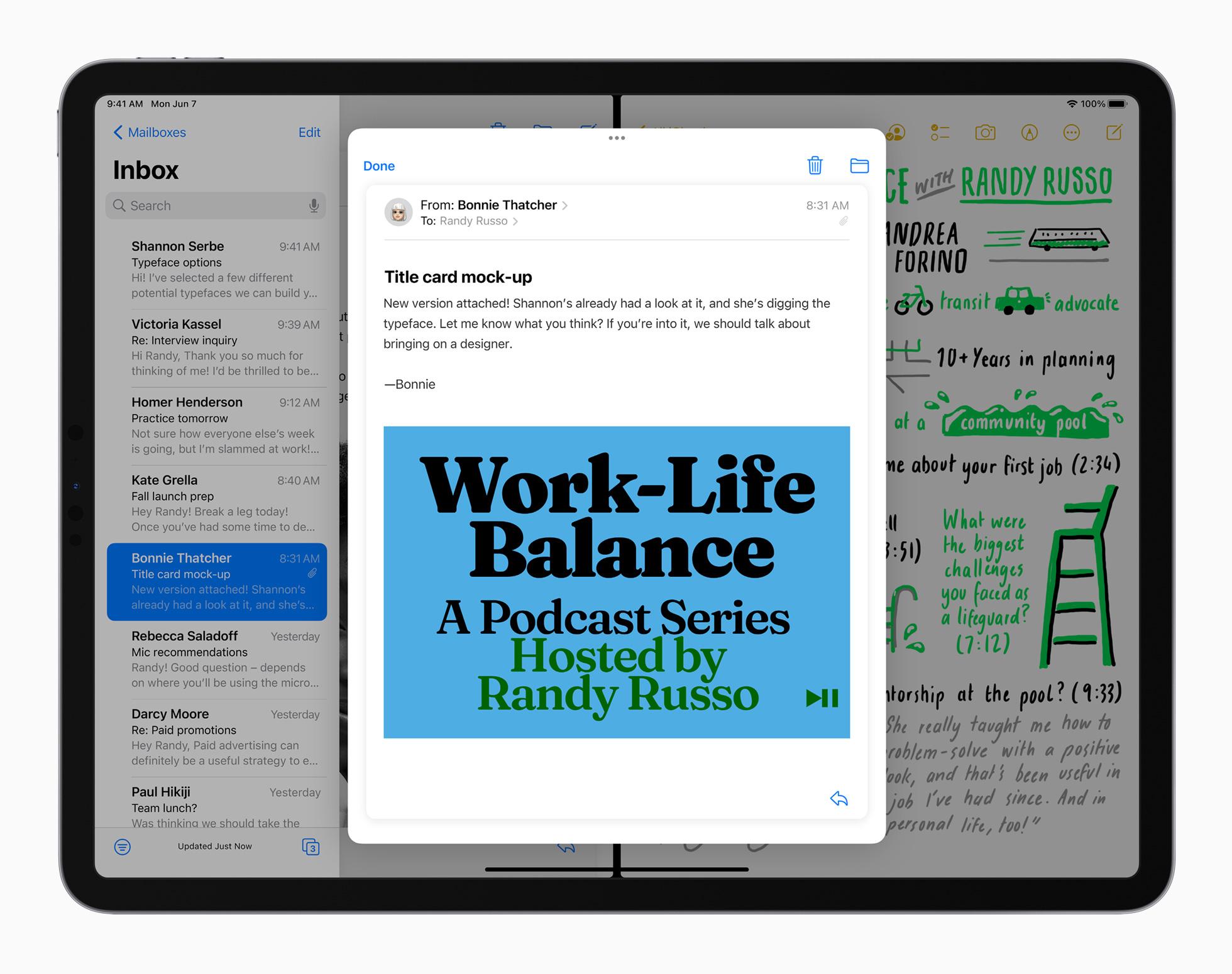 Multitasking iPadOS 15