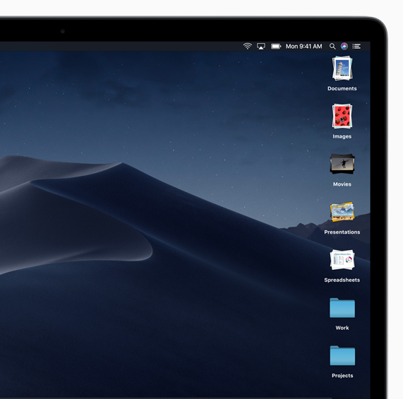 Apple introduces macOS Mojave - Apple
