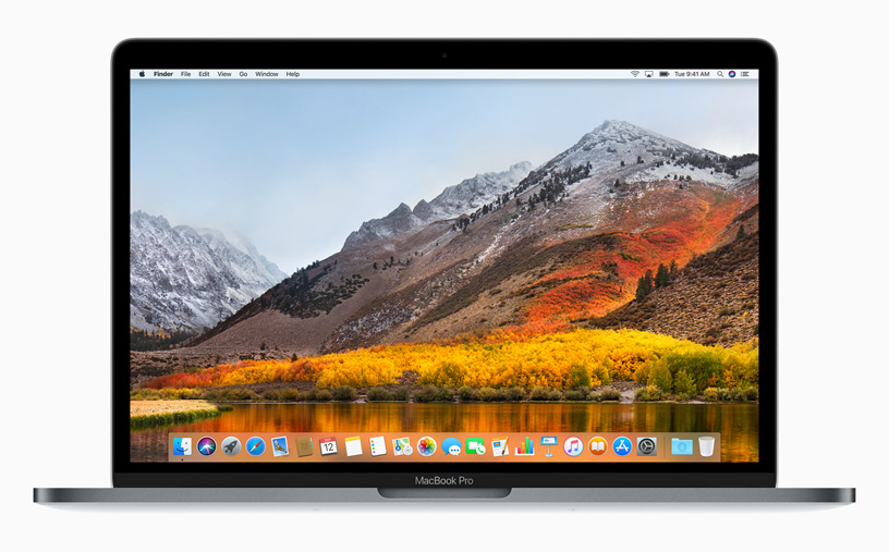 macOS High Sierra now available as a free update - Apple