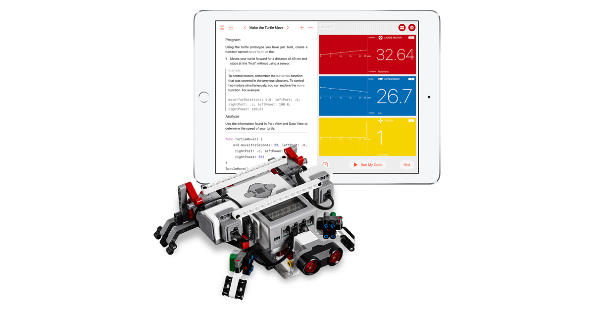 Swift Playgrounds expands coding education to new devices
