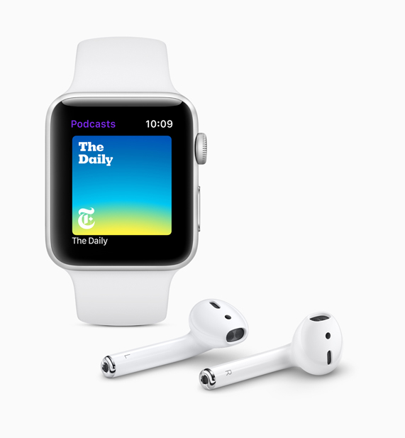 Black Apple Watch displaying the new Connected screen